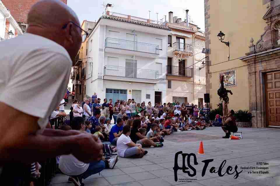 מופע קרקס רחוב בספרד